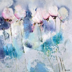 Joy II by Emilija Pasagic -  sized 30x30 inches. Available from Whitewall Galleries